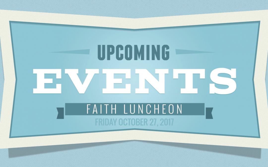 Faith Luncheon