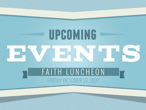 Faith Luncheon