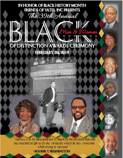 2019 Black Men & Women of Distinction