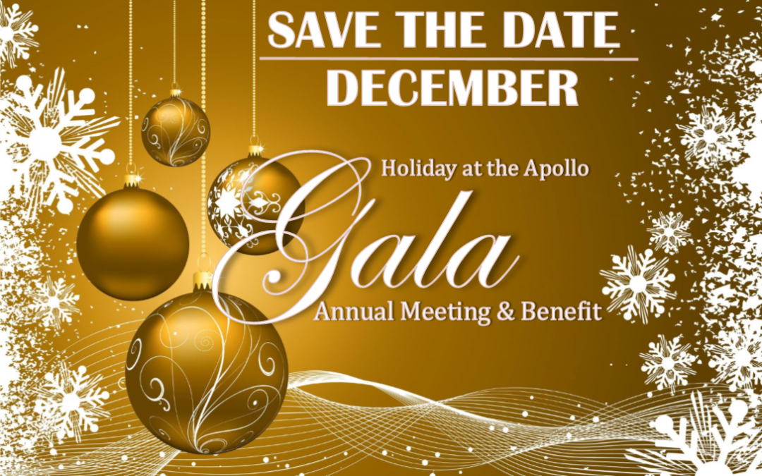 Holiday At the Apollo Gala