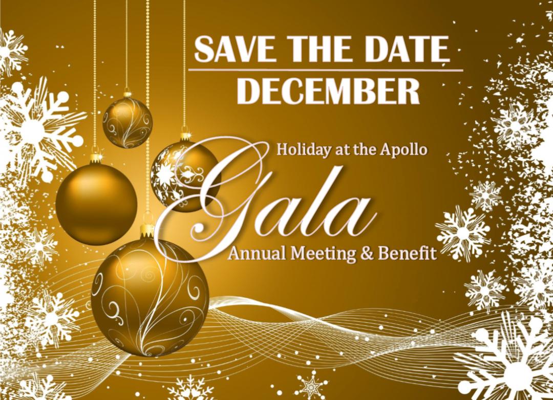 Holiday At the Apollo Gala