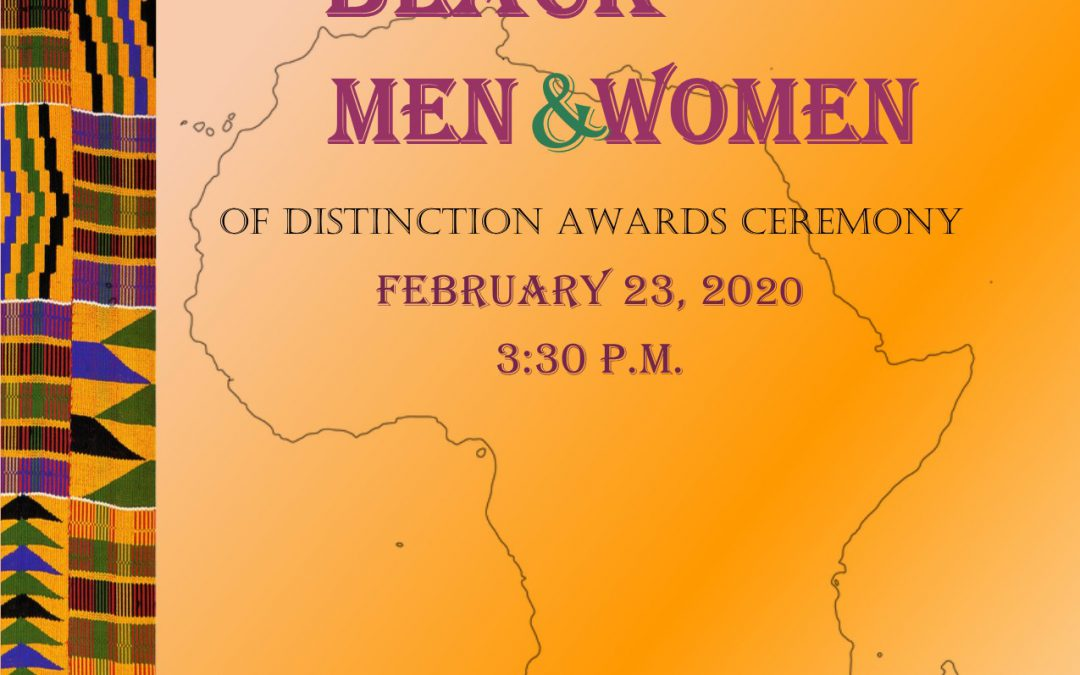 2020 Black Men and Women of Distinction