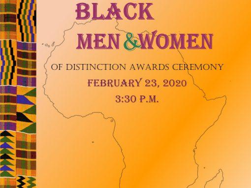 2020 Black Men and Women of Distinction